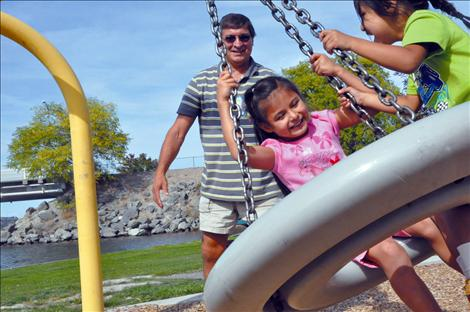 The Villegas family has taken in more than 20 foster children over the past 8 years, including Chenoa, who was adopted by the family and Patrick, who is in the process of being adopted.