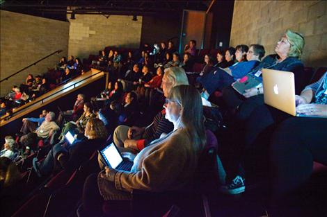 Participants packed the Johnny Arlee/Victor Charlo Theater at Salish Kootenai College.
