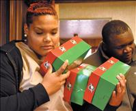 Kicking Horse students participate in Operation Christmas Child