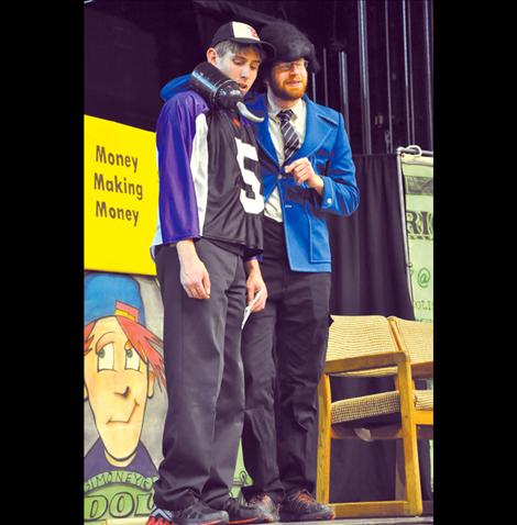 Mad About Money teaches Ronan Middle School students about finances, with a good dose of humor.