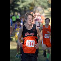 Class B, C runners race to finish