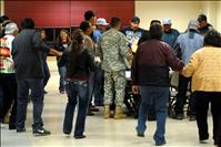 College group honors veterans