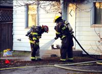 Firefighters save Polson home