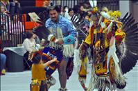 Children experience Native heritage at powwow