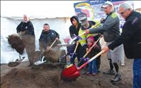 Local Marine, family breaks ground on new home