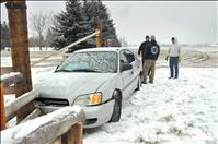 Winter weather leads to fatal wreck, slide-offs