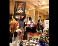 Mardi Gras revelers support kids