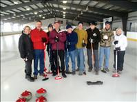 Local Group explores curling at Missoula ice rink