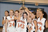 Ronan Maiden's 7th-grade basketball team wins tournament
