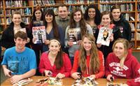 High school students support Magazines for Troops