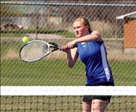 Mission tennis toughs out rough week