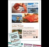 Lake trout safe consumption guidelines available