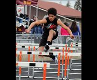 Valley track, field athletes place at Top 10