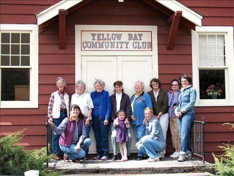 Members of the Yellow Bay Community Social Club host the annual Cherry Blossom Festival as a fundraiser for the group.