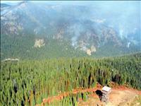 Dry weather encourages fire activity