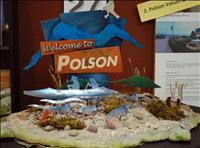 Vote for 'Welcome to Polson' sign