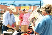 Early vegetable yield sells well at Jocko Valley Farmers Market