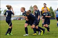 U10 girls' soccer team goes undefeated