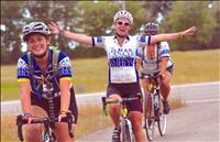 Charity riders push through Polson