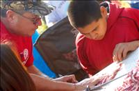 Traditional hunting camp teaches leadership