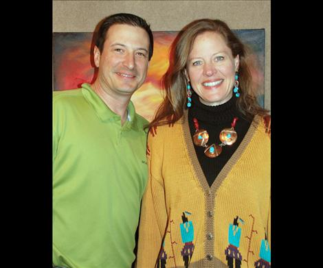 Husband and wife, Matt and Heather Holmes, will exhibit their work at the Ninepipes Museum of Early Montana.