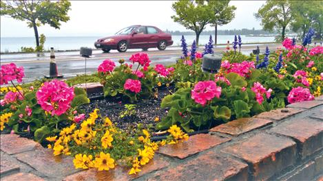 Courtesy photo A beautiful garden, just east of Ducharme Park, was made possible by a directed gift to the Greater Polson Community Foundation.