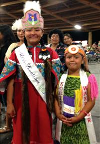New powwow royalty selected
