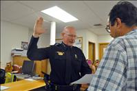 Ronan police chief takes oath