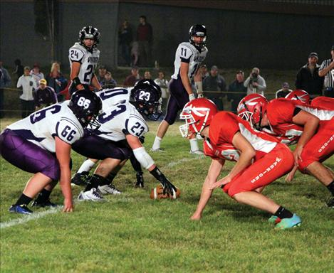 Vikings and Warriors square off at Arlee's homecoming game.