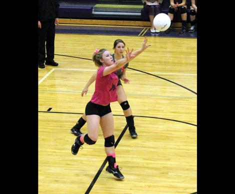 Libero Libby Clay finds a new role in defensive position.