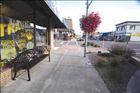 Streetscape needs waste receptacles, funds