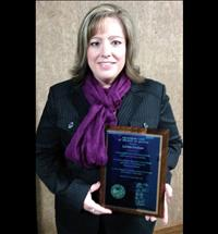 Local judicial assistant awarded employee of year