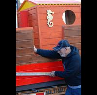 Pirate ship sails into Polson