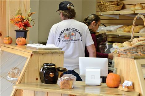 Roy Mills and his wife, Marliese, recently opened Backstube Edelweiss, an artisan bakery in Arlee.
