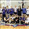 All-stars pose for a group photo after an action packed, fun-filled evening to close out the volleyball season.