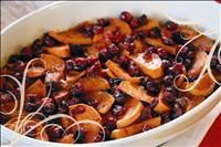 Maple glazed yams, cranberries provide gluten-free alternative