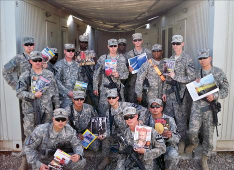Postage donations needed to boost morale of deployed troops