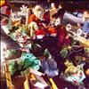 Santa's presents are loaded into a sleigh by members of the Church of Latter-day Saints after a food and clothing drive.