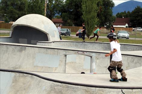 "The ""helmet"" is one of the many challenging obstacles that make Polson's Skatepark unique, but can be considered more for the advanced user. The new expansion would provide space better suited for beginners."