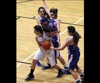 Lady Pirates battling school of hard knocks under hoop
