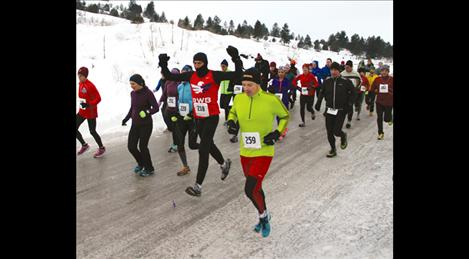 'Sorry 'Bout That' half marathon beats January weather without a hitch