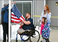 Veteran given mortgage free, specially-adapted home