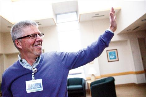In his new position with Providence St. Joseph Medical Center, Rich Forbis is looking forward to building a deeper bond with different segments of the community.
