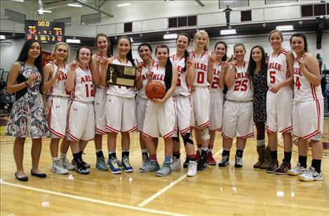 Arlee Scarlets, 14-C District champs