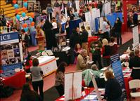 Career fair brings employers, potential employees together