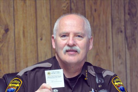 Lake County Sheriff Don Bell