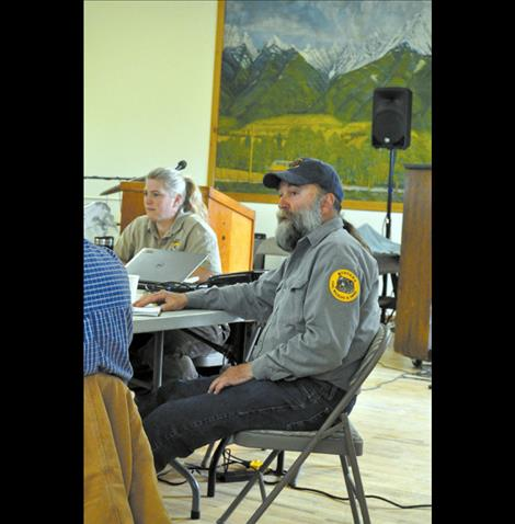 Montana Fish Wildlife and Parks Manager John Grant talks about plans for a new interagency habitat management program.