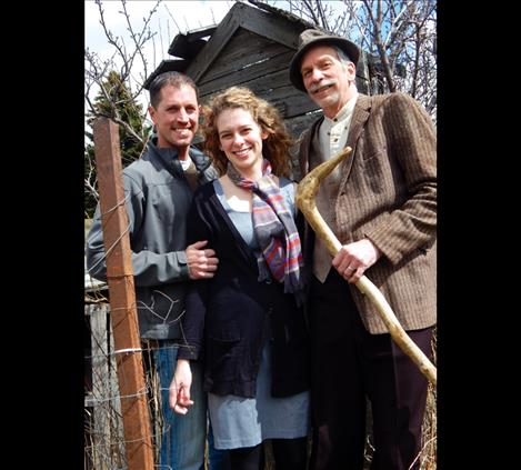 left to right: Shawn Ashcraft, Anna Lewing and Neal Lewing