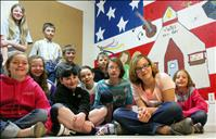Valley View students improve school with mural