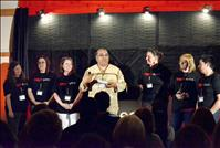 Arlee hosts TEDx talks